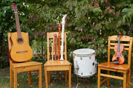 Unterrichtsfach: Instrumenten-Karussell